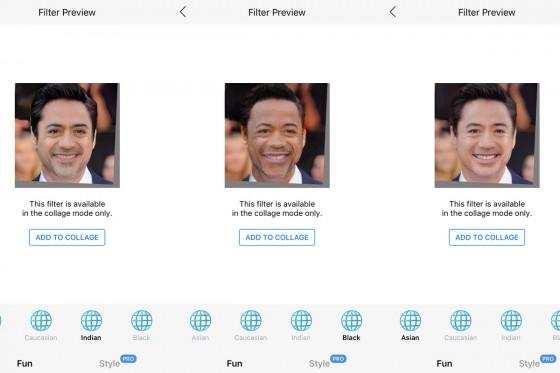FaceApp'in ırk değiştiren filtreleri tepki çekti