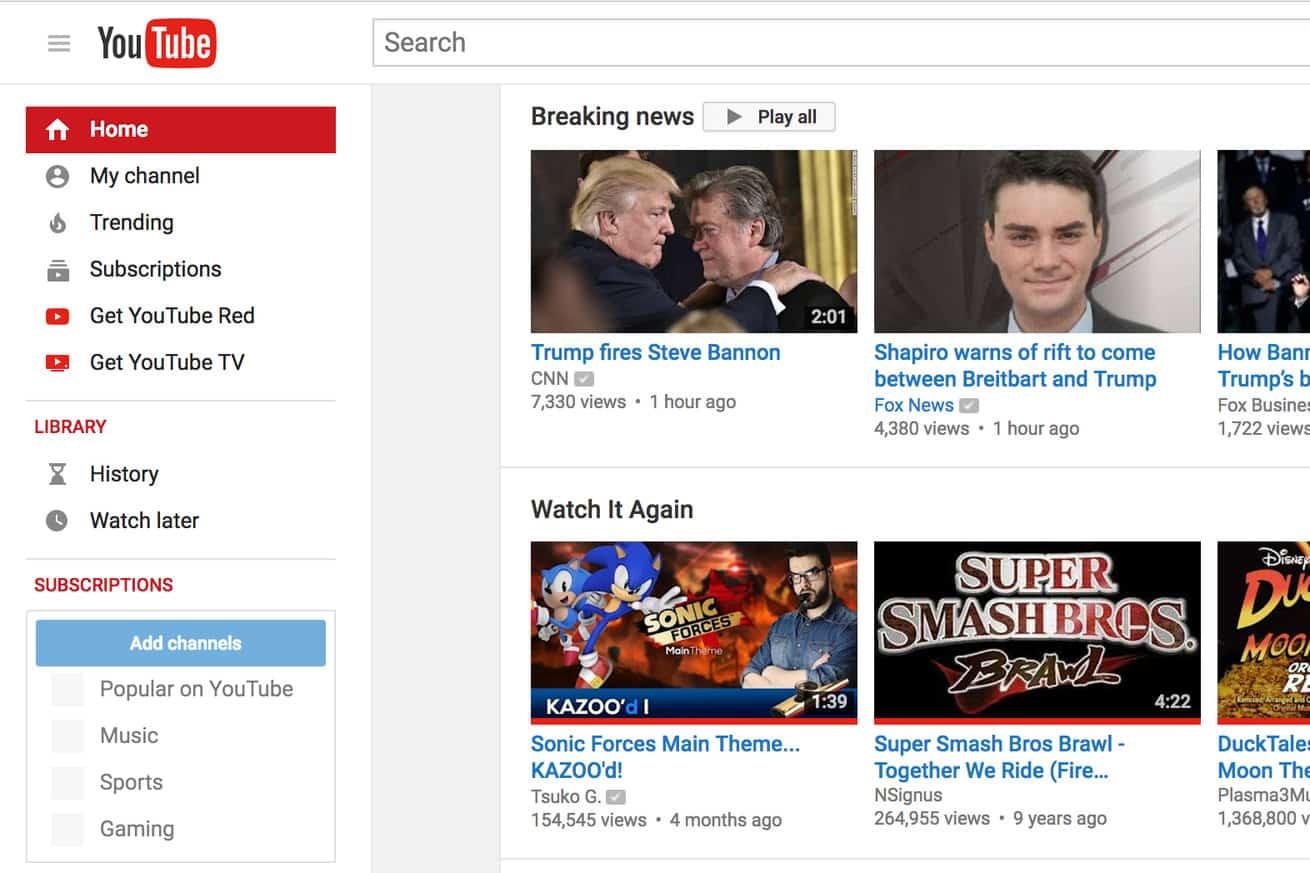 youtube son dakika