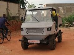 aCar: Afrika koşullarına uygun elektrikli otomobil