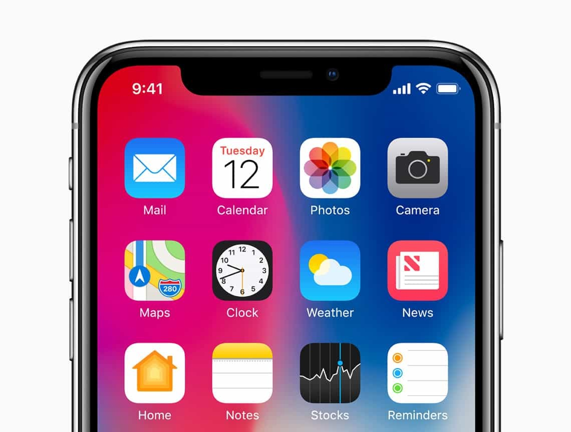 iphone x ekran görüntüsü