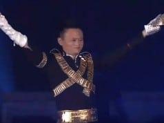 Alibaba'nın kurucusu Jack Ma'dan Michael Jackson performansı
