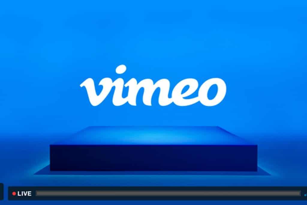 vimeo live livestream