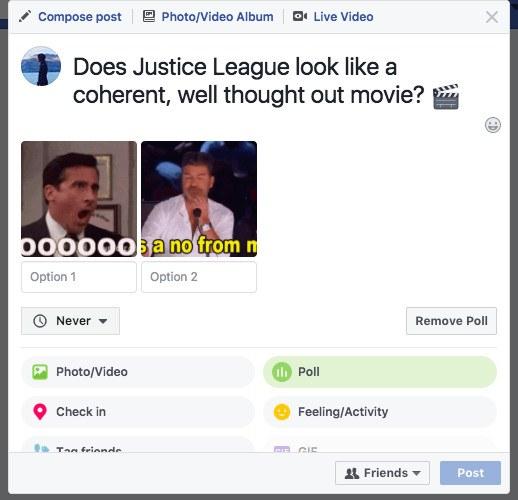 facebook anket