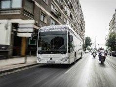 Mercedes 2018'in sonunda elektrikli Citaro üretimine başlayacak