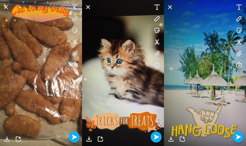 snapchat filtre