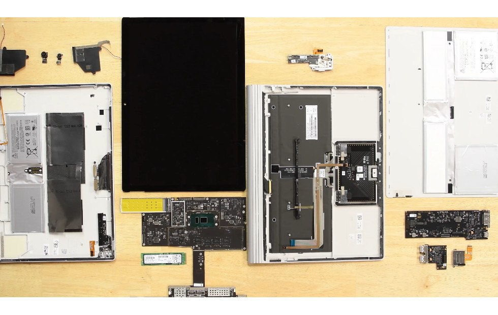 surface book 2 ifixit