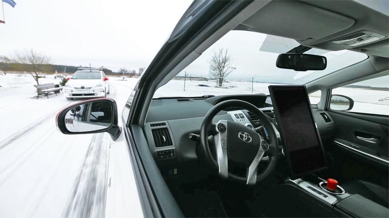 yandex surucusuz otomobil