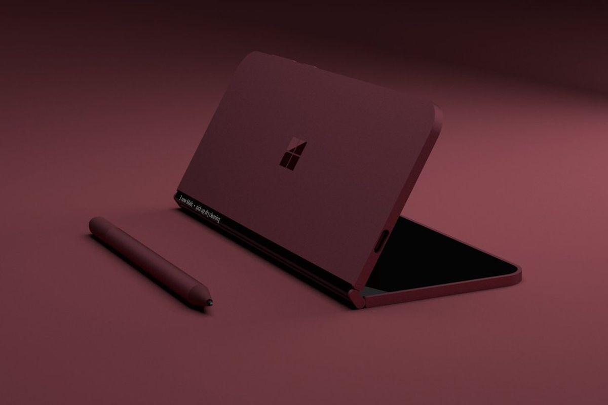 Microsoft Surface ekibinin patenti konsept tasarıma dönüştürüldü
