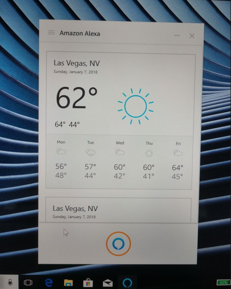 amazon alexa windows 10