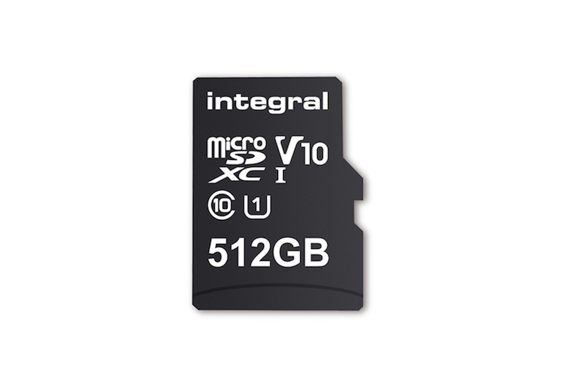 integral memory 512 gb microsd