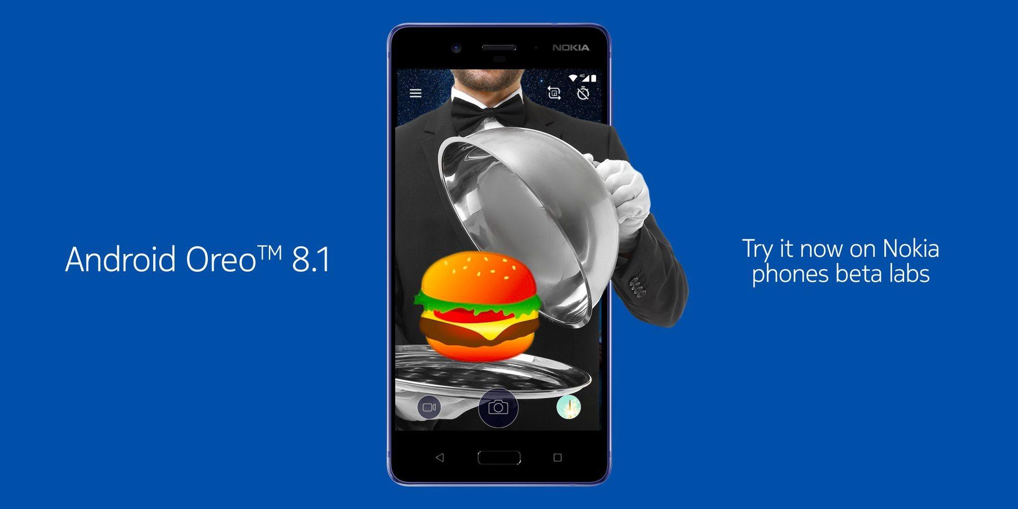 nokia 8 android 8.1 oreo