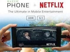 Razer Phone güncellemeyle Netflix HDR desteğine kavuşuyor