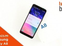 Video: Samsung Galaxy A8 Kutusundan Çıkıyor