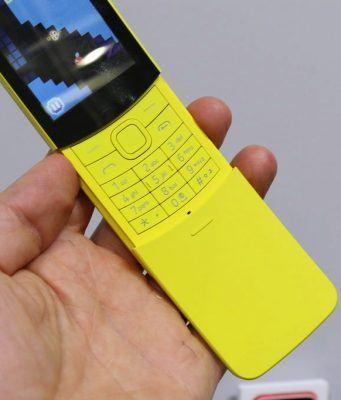 Nokia 8110 Asya ülkelerinde satışa sunuluyor