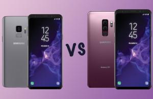 Samsung Galaxy S9 ve S9+ karşı karşıya