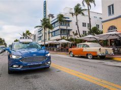 Ford sürücüsüz otomobil teknolojisini Miami'de test ediyor