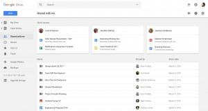 """Google Drive yapay zekâ ile """"Benimle Paylaşılanlar"""" içeriklerini düzenleyecek"""