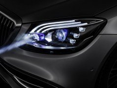Mercedes akıllı far teknolojisini Maybach'ta kullanacak