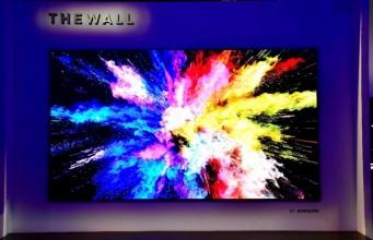 Samsung'un 146 inçlik modüler TV'si The Wall ağustosta satışa sunulacak
