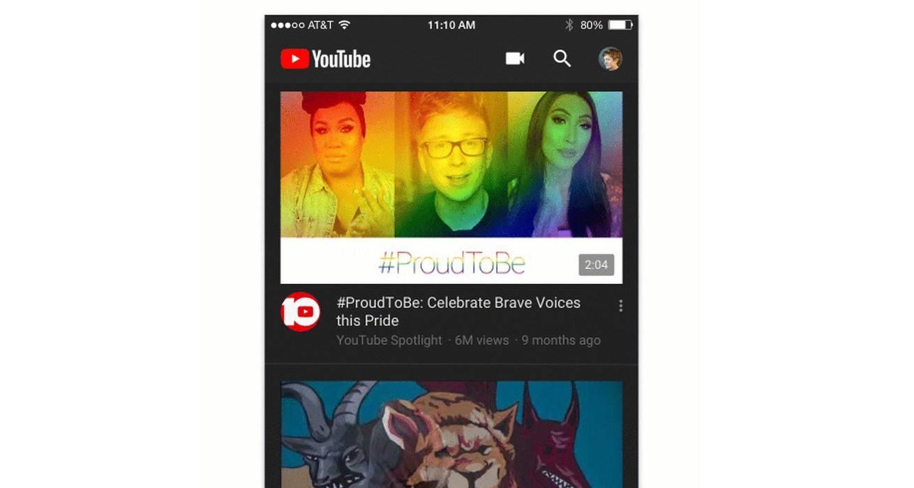 youtube koyu tema
