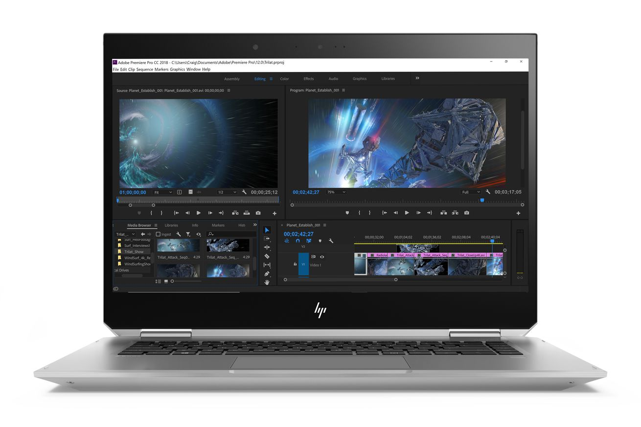 hp zbook studio x360