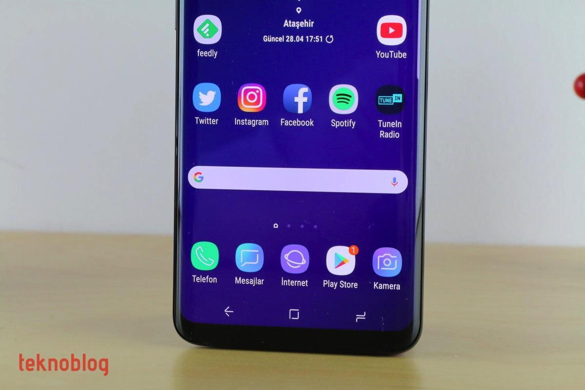 Samsung Galaxy P ile parmak izi tarayıcısını ekrana entegre edebilir