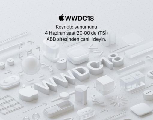 Apple 4 Haziran'daki WWDC 2018 açılış konuşmasını canlı yayınlayacak
