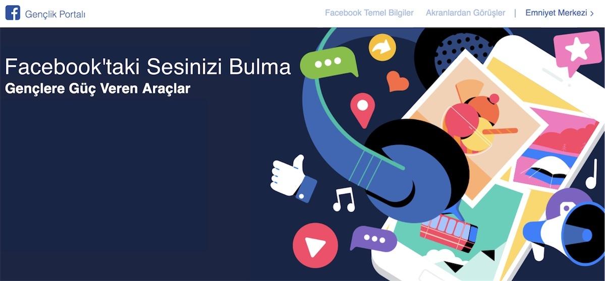 Facebook Gençlik Portalı ile gençlere ipucu ve tavsiyeler verecek