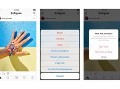 Instagram istediğiniz hesabı sessize almanıza izin verecek