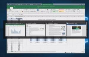 Microsoft Alt-Tab'ın Windows 10'da çalışma şeklini değiştiriyor