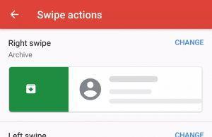 Gmail Android uygulamasında sürükleme hareketleri kişiselleştirilebiliyor