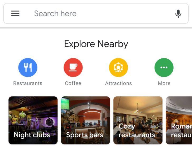 google haritalar android