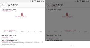 Instagram'ın kullanım istatistikleri özelliğine ait ekran görüntüleri ortaya çıktı
