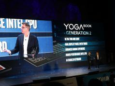 Yenilenmiş Lenovo Yoga Book iki ekran barındırıyor