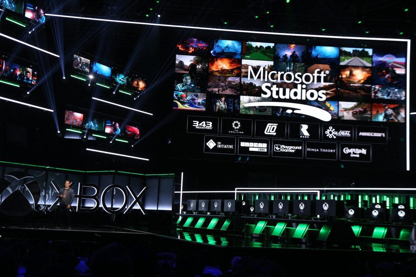 microsoft xbox e3 2018