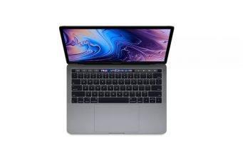 13 inç MacBook Pro'ların dört Thunderbolt 3 portu da en yüksek hızda çalışabiliyor