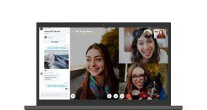 Skype'ın masaüstü uygulamasına mobil benzeri tasarım