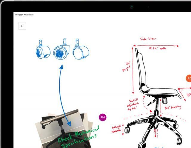 microsoft whiteboard