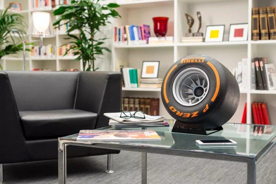 Pirelli lastik şeklinde Bluetooth hoparlör üretti