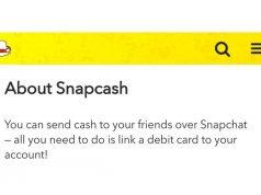 Snapchat para transferi servisinin fişini çekiyor