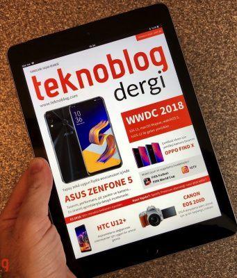 Teknoblog Dergi Temmuz 2018 sayısı yayında