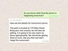 WhatsApp iletilmiş mesajları etiketleyecek