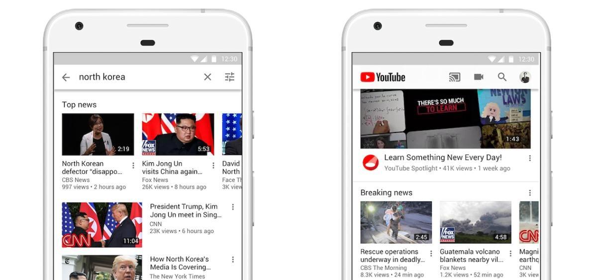 YouTube son dakika haberleri konusunda güvenilir kaynak olmayı istiyor