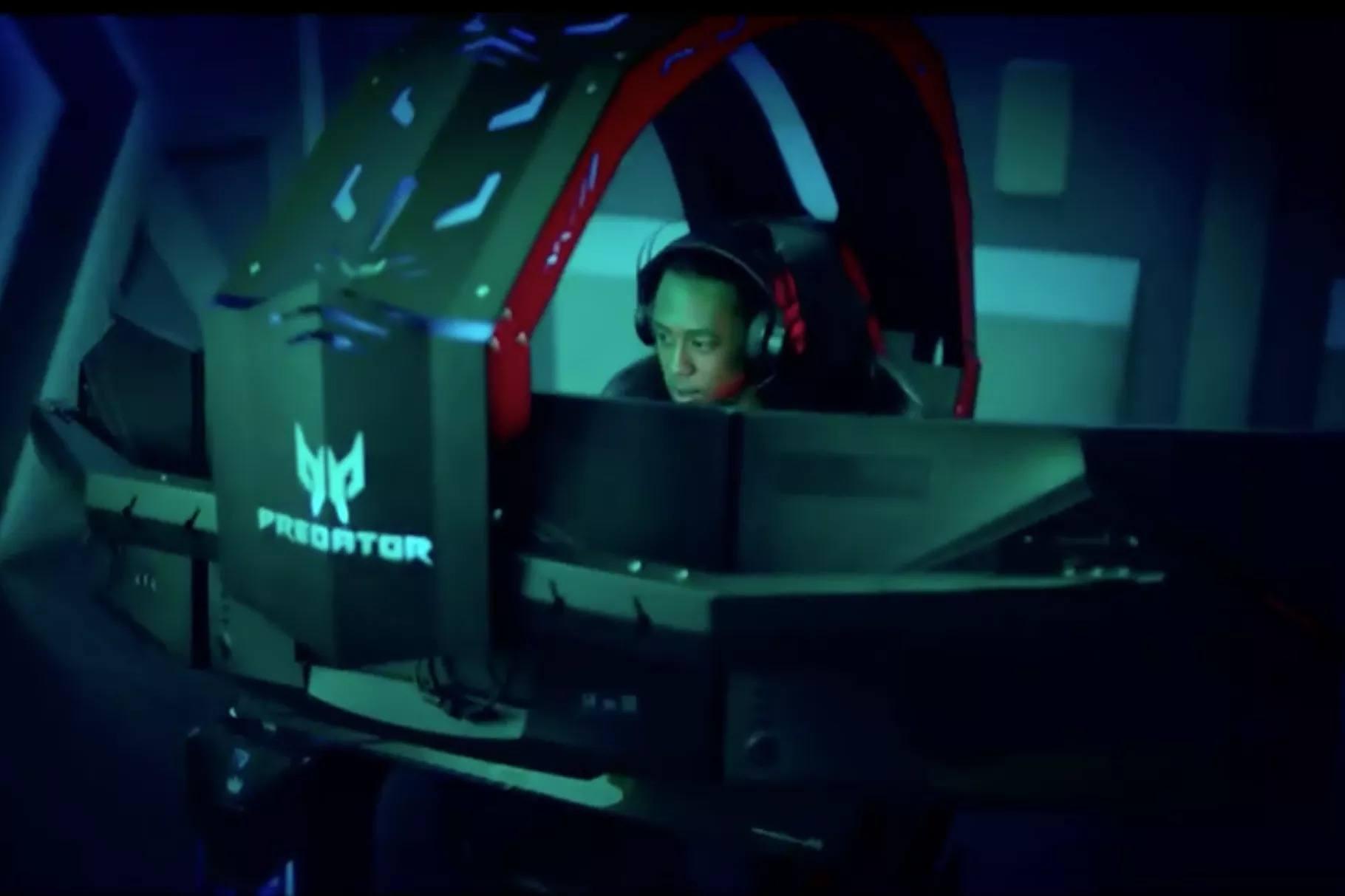 Acer'dan oyun tutkunları için Predator Thronos oyun kabini