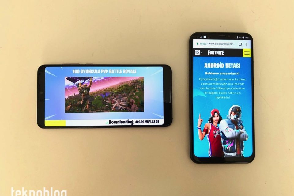 fortnite epic games android