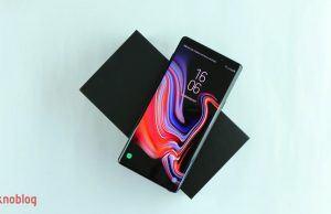 Samsung Galaxy Note 9'un ekranı akıllı telefonlar içinde en iyisi