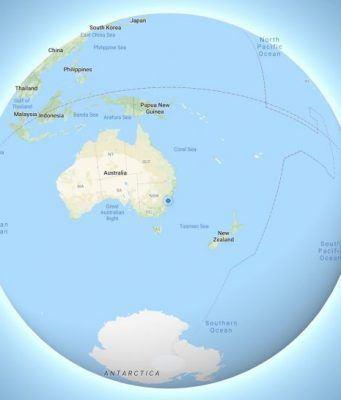 Google Haritalar dünyayı üç boyutlu küre olarak göstermeye başladı