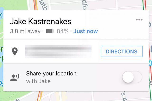 google haritalar konum paylaşımı pil durumu