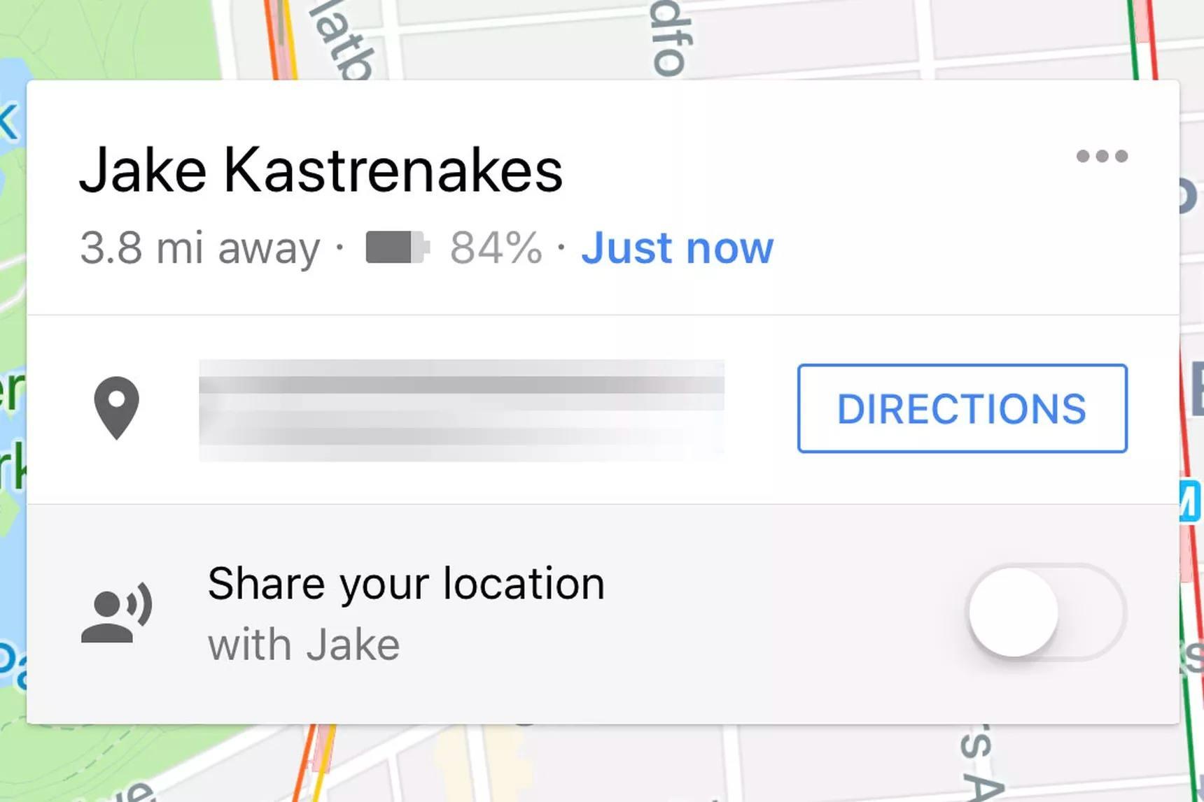 Google Haritalar konum bilgisiyle telefonun pil durumunu da paylaşıyor