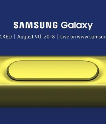 Samsung Galaxy Note 9 tanıtım etkinliğini canlı izleyin